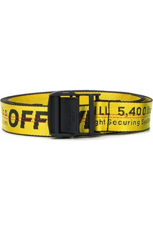 OFF-WHITE Men Belts - MEN'S OMRB012R21FAB0011810 POLYESTER BELT