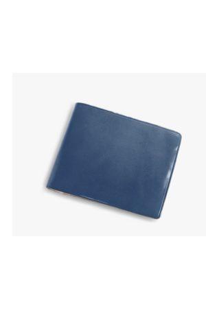 IL BUSSETTO Button Bi-Fold Wallet - Turquoise