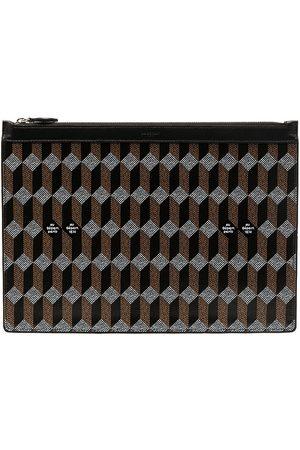 AU DEPART Pochette XL monogram pouch