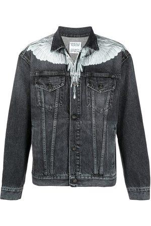 MARCELO BURLON Button-front denim jacket