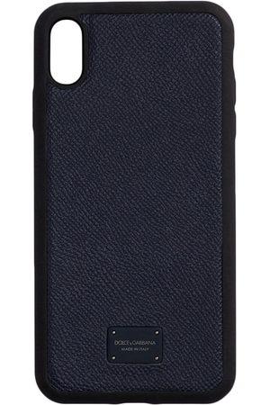 Dolce & Gabbana Men Phones Cases - Logo-plaque iPhone XS Max case