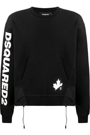 Dsquared2 Men Sweatshirts - Maple Leaf logo-print sweatshirt