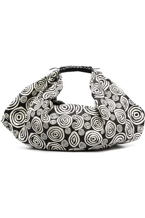 10 CORSO COMO Spiral print shoulder bag - Neutrals