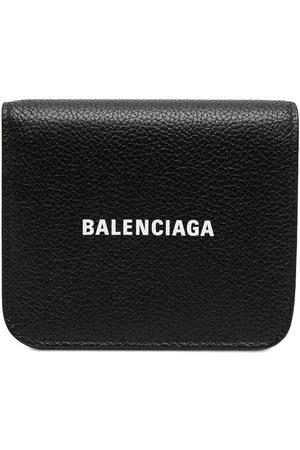 Balenciaga Women Wallets - Logo-print wallet
