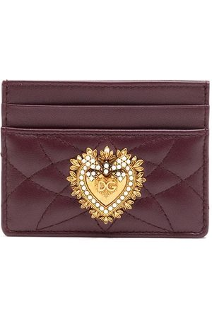 Dolce & Gabbana Devotion quilted card holder
