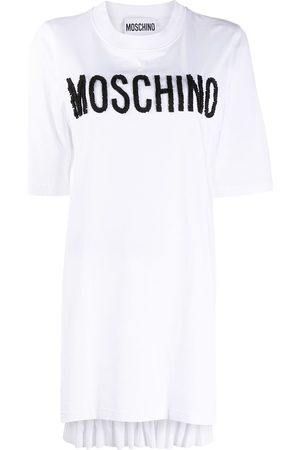 Moschino Logo asymmetric T-shirt