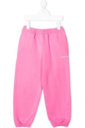 Balenciaga Boys Sweatpants - Logo-print track pants