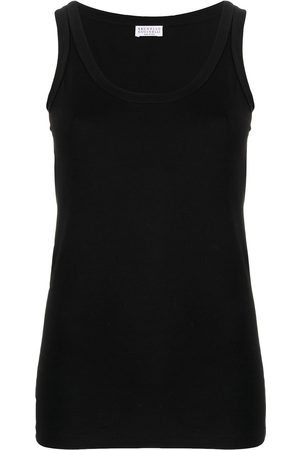 Brunello Cucinelli Studded tank top