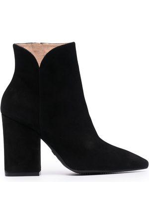 Stuart Weitzman Heeled leather ankle boots