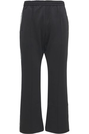 MAISON EMERALD Men Sweatpants - Butterfly Embellished Track Pants