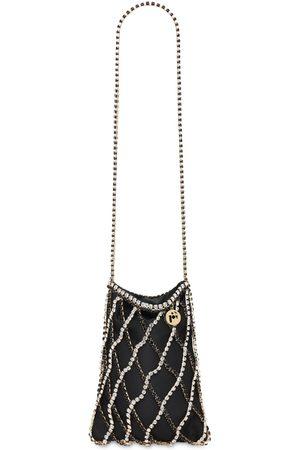 ROSANTICA Greta Shoulder Bag W/ Crystal Strap