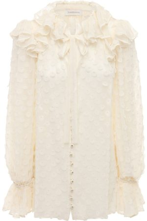 ZIMMERMANN Chiffon Jacquard Shirt