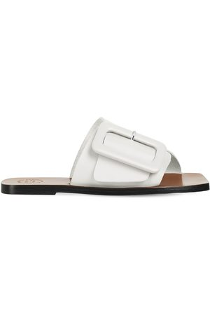 ATP Atelier 10mm Ceci Leather Slide Flats
