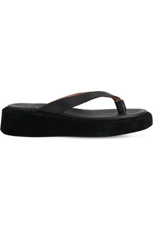 ATP Atelier 30mm Roseo Leather Thong Sandals