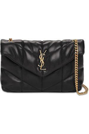 Saint Laurent Mini Puffer Loulou Leather Bag