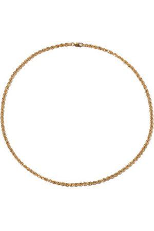 Otiumberg Eternal Twist Rope-chain 14kt -vermeil Choker - Womens