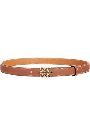 Loewe 2cm Anagram Leather Belt