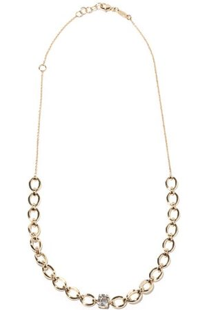 Nadine Aysoy Women Necklaces - Catena Illusion Diamond & 18kt Necklace - Womens