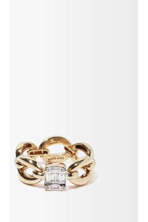 Nadine Aysoy Women Rings - Catena Illusion Diamond & 18kt Ring - Womens