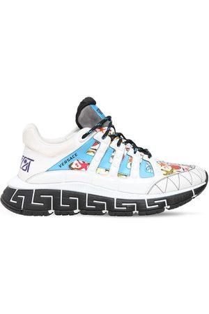 VERSACE Men Sneakers - Trigreca Tresor De La Mar Logo Sneakers