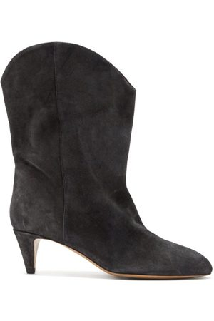 Isabel Marant Dernee Suede Ankle Boots - Womens