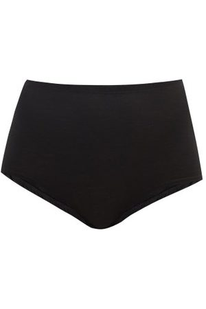 About Core High-rise Merino-wool Briefs - Womens