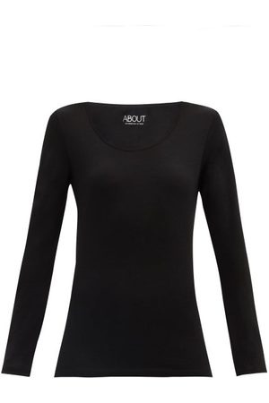 About Women Sweats - Core Merino-wool Jersey Top - Womens