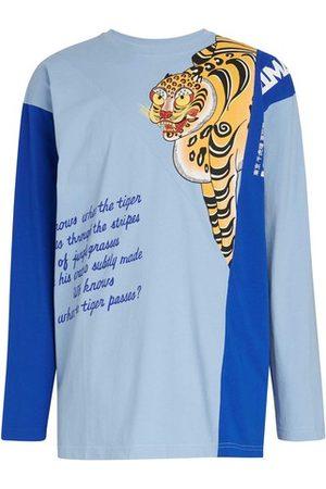 Kenzo Men Long Sleeve - X KANSAIYAMAMOTO - Fancy pattern long sleeves t-shirt