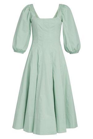Staud Women Maxi Dresses - Swells dress cotton Poplin