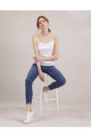 The White Company Perfect Lace Trim Cami