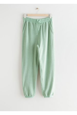 & OTHER STORIES Cotton Drawstring Trousers