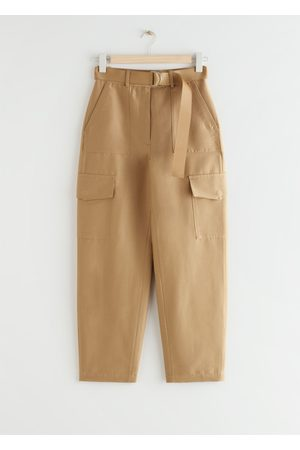 & OTHER STORIES Relaxed Belted Utility Pocket Trousers