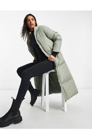 Threadbare Longline puffer coat