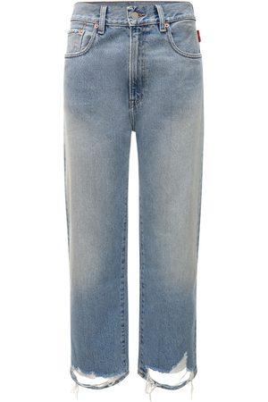Denimist Pierce High Waist Denim Straight Jeans