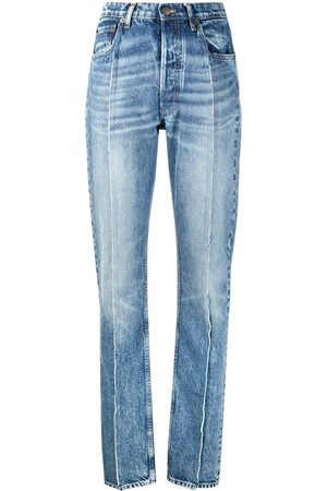 Maison Margiela Seam-detail high-rise jeans