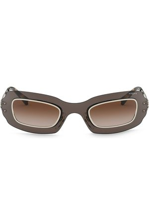 vogue Rectangular frame sunglasses - Grey