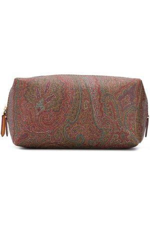 ETRO Men Toiletry Bags - Paisley print wash bag