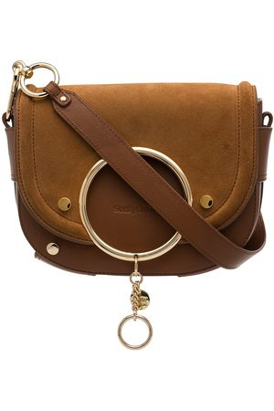 See by Chloé Mara suede panel crossbody bag