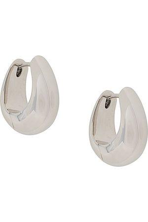 TOM WOOD Women Earrings - Ice Small hoop earrings