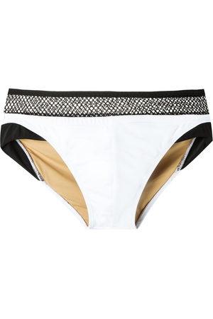 AMIR SLAMA Men Swim Shorts - Mesh panel trunks