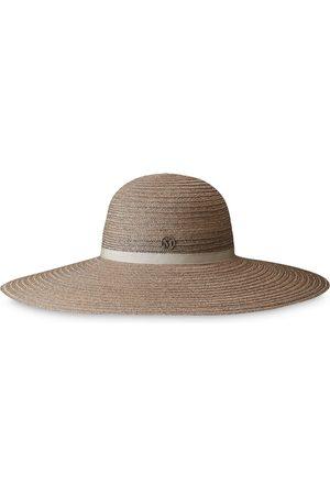 Le Mont St Michel Blanche fedora hat - Neutrals