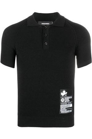 Dsquared2 Logo-patch polo shirt