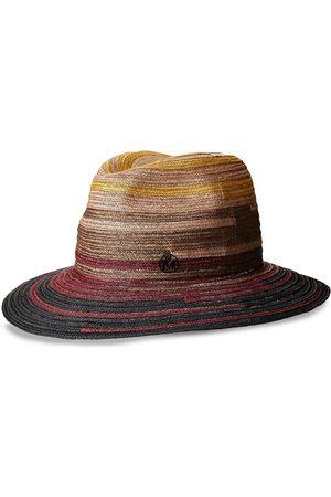 Le Mont St Michel Henrietta woven fedora hat