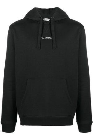 VALENTINO Men Hoodies - Logo-print hoodie