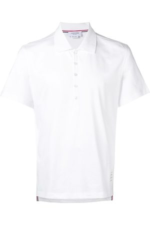 Thom Browne Men Polo Shirts - Classic button polo shirt
