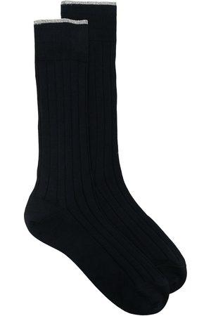 Brunello Cucinelli Ribbed ankle socks