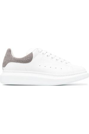 Alexander McQueen Men Sneakers - Oversize leather sneakers