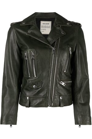 Zadig & Voltaire Fitted biker jacket