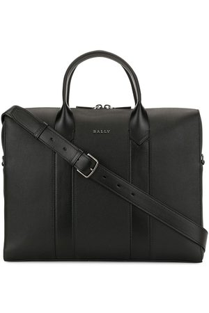 Bally Elter leather laptop case