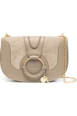 See by Chloé Hana panelled shoulder bag - Grey